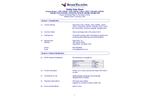 ResinTech - Model CGS - Cation Exchange Resin Softening Grade Sodium (Na) Form - SDS