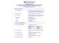 ResinTech - Model CGS - Cation Exchange Resin Softening Grade Sodium (Na) Form