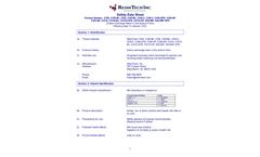 ResinTech - Model CG8 - Cation Exchange Resin Strong Acid Gel 8% DVB, Na OR H Form - Datasheet