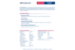ResinTech - Model MBD-Nano - Mixed Bed Resin Ultrapure Water H/OH Form - Datasheet