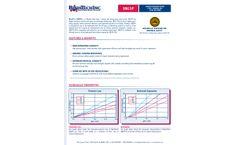 ResinTech - Model SBG1-P - Anion Exchange Resin Type 1 Porous Gel Cl Or OH Form - Datasheet