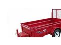 Model DT48/DT60 5,200 lb - Single Axle Dump Trailers