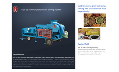 grain cleaner catalog