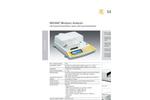Sartorius - MA100C-000115V1 - Infrared Moisture Analyser Brochure