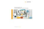 Sartoclear Dynamics - Model SDLV-1000-10C--2 - Lab Filtration Kits Brochure