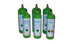 Model 1 or 2 Liter - Refrigerant Gas Cylinders