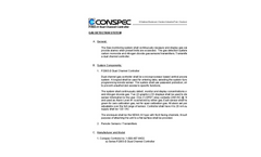 P2065-D Single Channel Controller Series Specification Sheet (PDF 46 KB)
