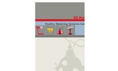 Drinker Systems for Turkey Poults - Brochure