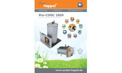Pro-COOL - Model 2020 - Exclusive Automatic Cleaning System - Brochure