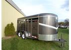 Model 6'8 X16 - Livestock Trailer
