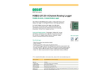 HOBO UX120 4-Channel Analog Logger - Datasheet