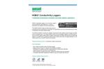 HOBO Conductivity Loggers - Datasheet