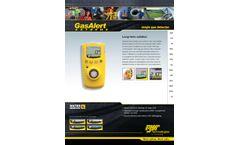 GasAlert Extreme - Personal Single Gas Detector - Datasheet