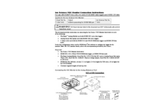 Ion Science VOC Monitor Connection - Instructions Manual