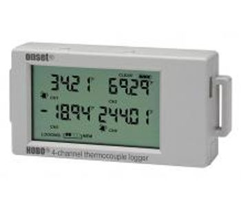 Onset HOBO - Model UX120-014M - 4-Channel Thermocouple Data Logger