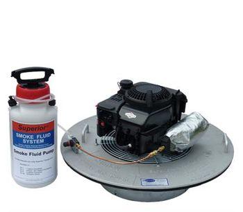 Superior - Model 30-L - High Output, Low-Profile Manhole Liquid Smoke Blower