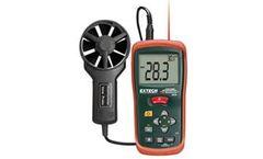 Extech - Model AN100 AN200 - CFM/CMM Vane Anemometers