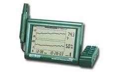 Model RH520A - Temp/Humidity LCD Chart Recorder w/ 110V Adaptor