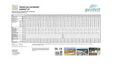 KORTEX - Model GT - Geotextile Wovens - Brochure
