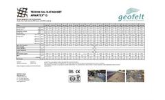 Armatex - Model G - Woven Geogrid Brochure