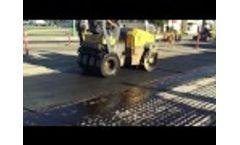 Titan Fiberglass Geogrid Installation (TE-FGP & TE-FGC) Video