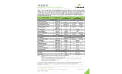 Titan - Model TE-BXC - Base Reinforcement Geogrid Brochure