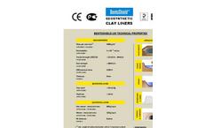 BentoShield - Model LM - Laminated Geomembrane Brochure