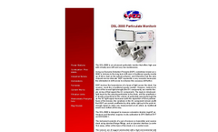 ADC - Model DSL-3000 - Advanced Particulate Monitor Brochure