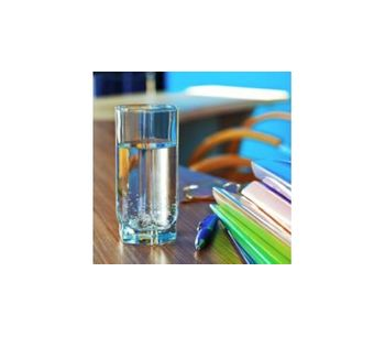 Water filtration with UV purification for offices