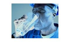 Water filtration with UV purification for factories