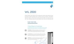 Waterlogic - WL 2500 - Premium Water Dispenser - Brochure