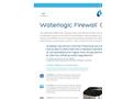 Waterlogic Firewall - Cube - Countertop UV Water Purifier - Brochure