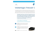 Waterlogic Firewall - Cube - Countertop UV Water Purifier - Brochure