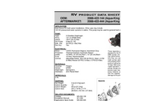 Water Pump Classic Series-Brochure