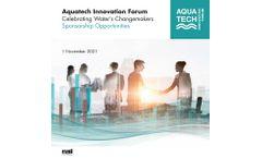 Aquatech Innovation Forum 2021 - Brochure