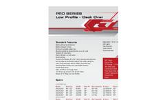 Model Pro Series - Low Profile Dump Trailers - Datasheet