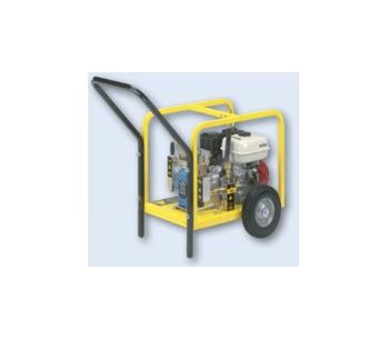 Aqua-Loc - Hydrostatic Test Pumps Piston Style