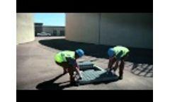 The Water Decontaminator Drain Insert Video
