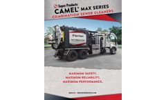 Camel - Model 900 Max Series - Combination Sewer Cleaner - Brochure