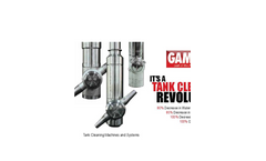 Gamajet - Tank Cleaning Systems Brochure