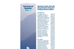 Tech Bulletin No.1: Meeting Cluster Rule Bleach Plant Requirements Using the RotaBed Fluidized Bed Scrubber Brochure