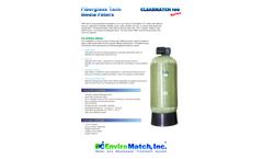 ClearMatch - Model 100 - Media Filtration Systems Brochure