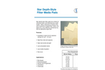 Star Depth-Style Filter Pads Brochure
