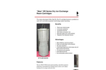 New DR Series Dry Ion Exchange Resin Cartridges Brochure