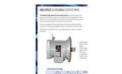 Hilliard - High-Speed Starter Overrrunning Clutch Drive - Brochure