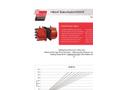 Hilliard M500HS Brake Caliper - Technical Datasheet
