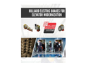 Hilliard Electric Brakes for Elevator Modernization - Brochure
