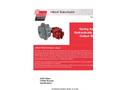 Hilliard A300-T300 SH Caliper Brake - Technical Datasheet