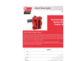 Hilliard A400-T400 HS Caliper Brake - Technical Datasheet