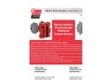 Hilliard A400-T300 SH / A400-T400 SH Caliper Brake - Datasheet